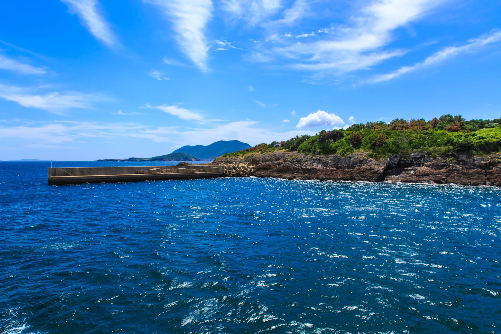 宇久島へのアクセスは佐世保港出発が一番早い!-0