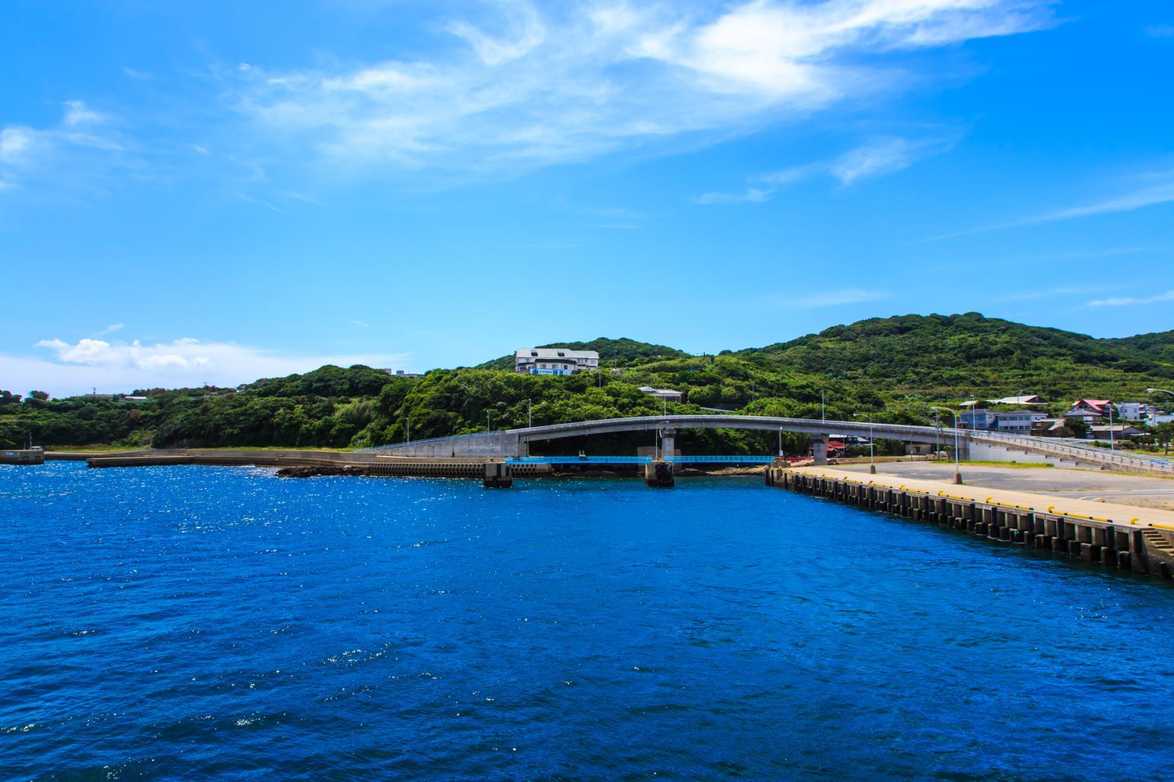 宇久島へのアクセスは佐世保港出発が一番早い!-1