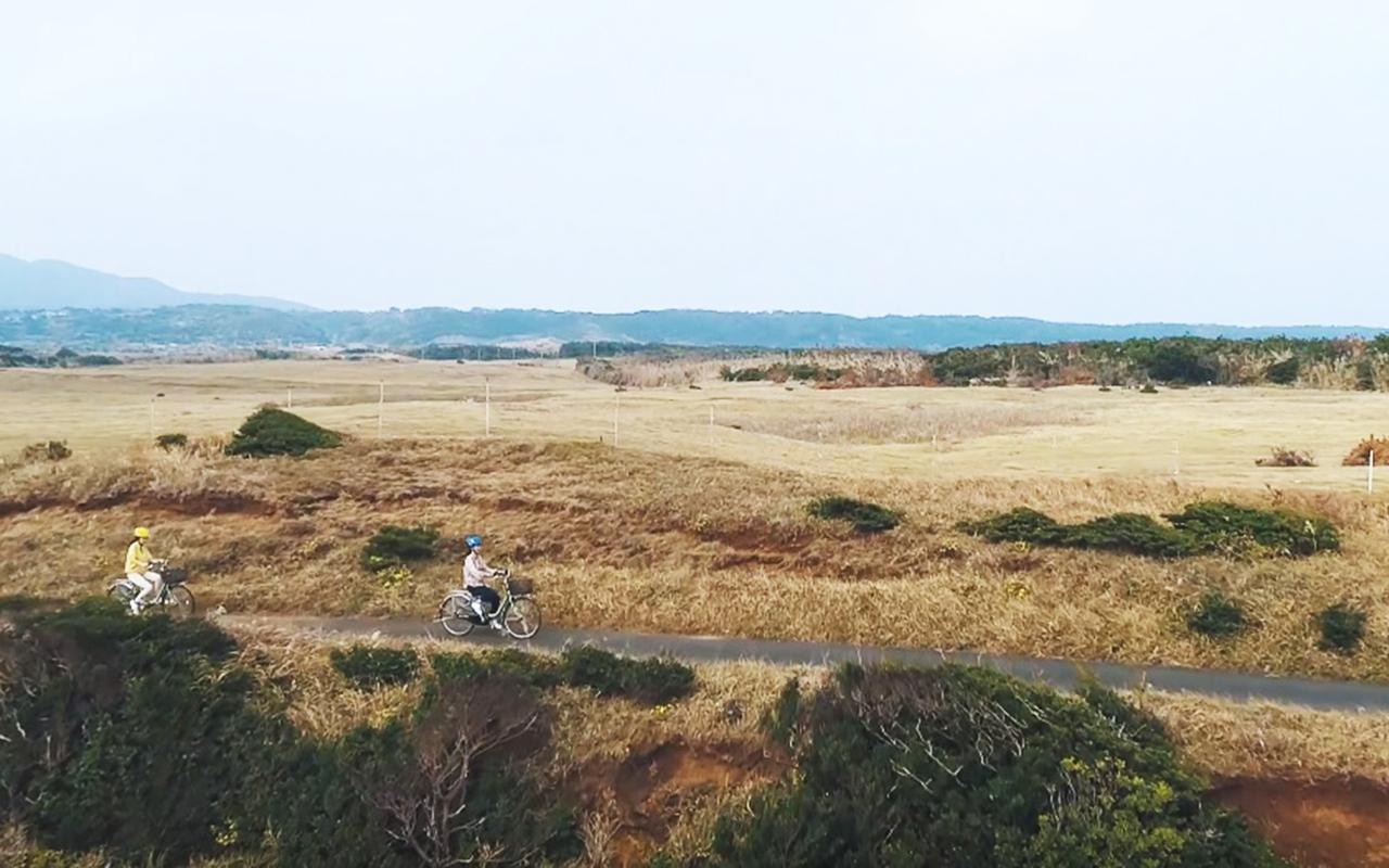 【宇久島】汐風をうけて「うくちゃり」で島サイクリングを満喫!-1