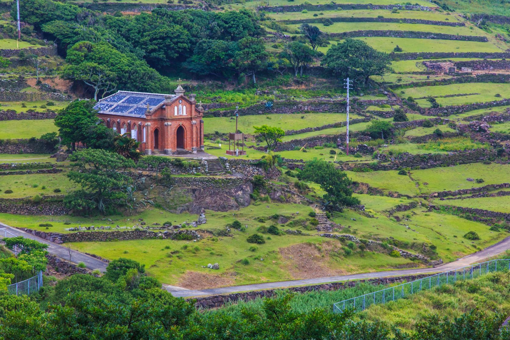 手つかずの自然が残る世界文化遺産の島 野崎島へ-1
