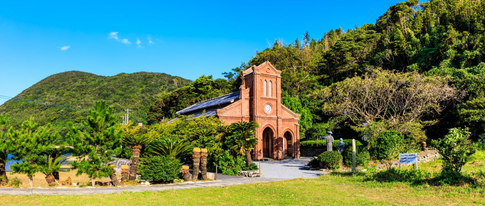 日本でここだけ!教会とお遍路巡りの島・下五島-1