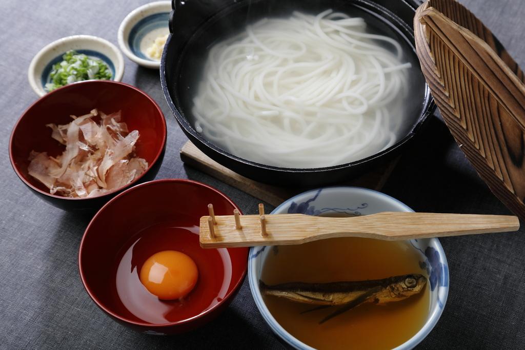 五島手延うどん工場見学(ますだ製麺)-1