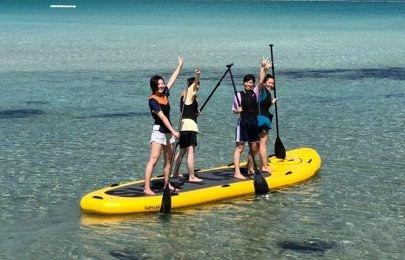 蛤浜で遊ぼう~SUP、クリアシーカヤック~-1