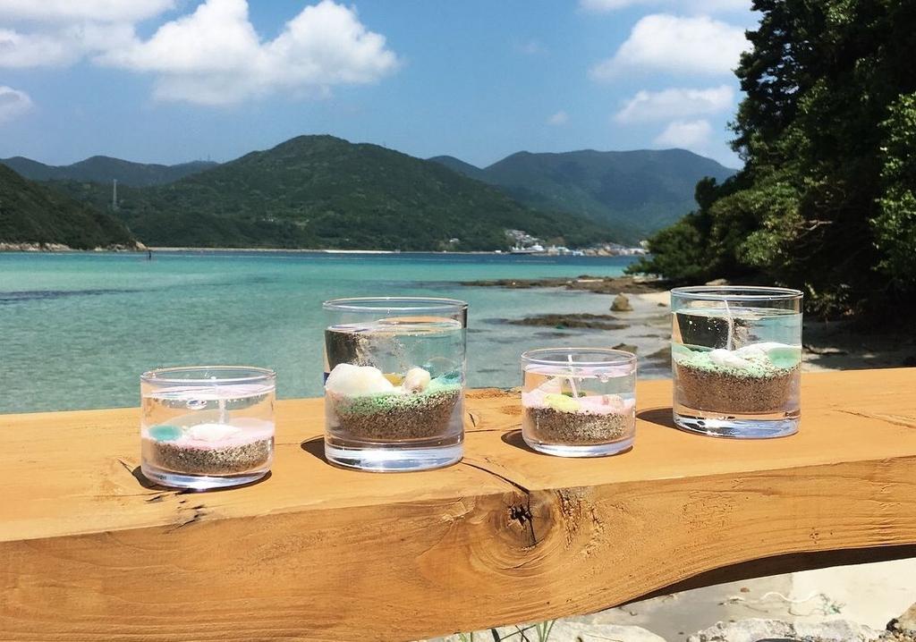 島キャンドルづくり体験-1