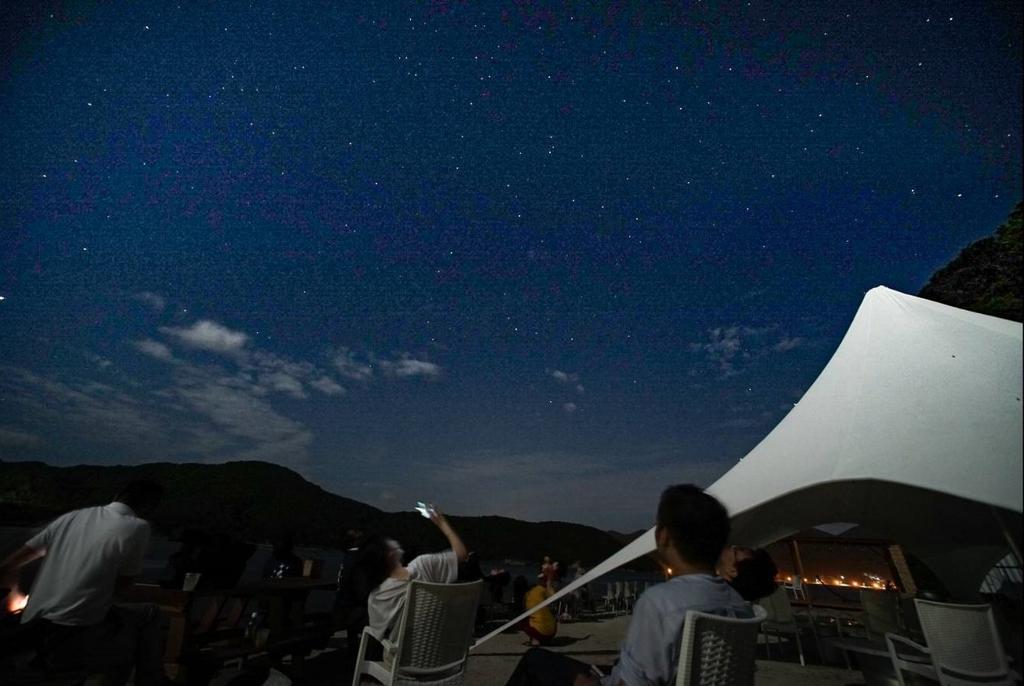 はまぐりデッキ星空体験-1