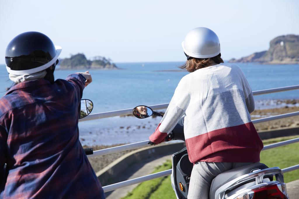イキエコ(EVスクーター)体験-0