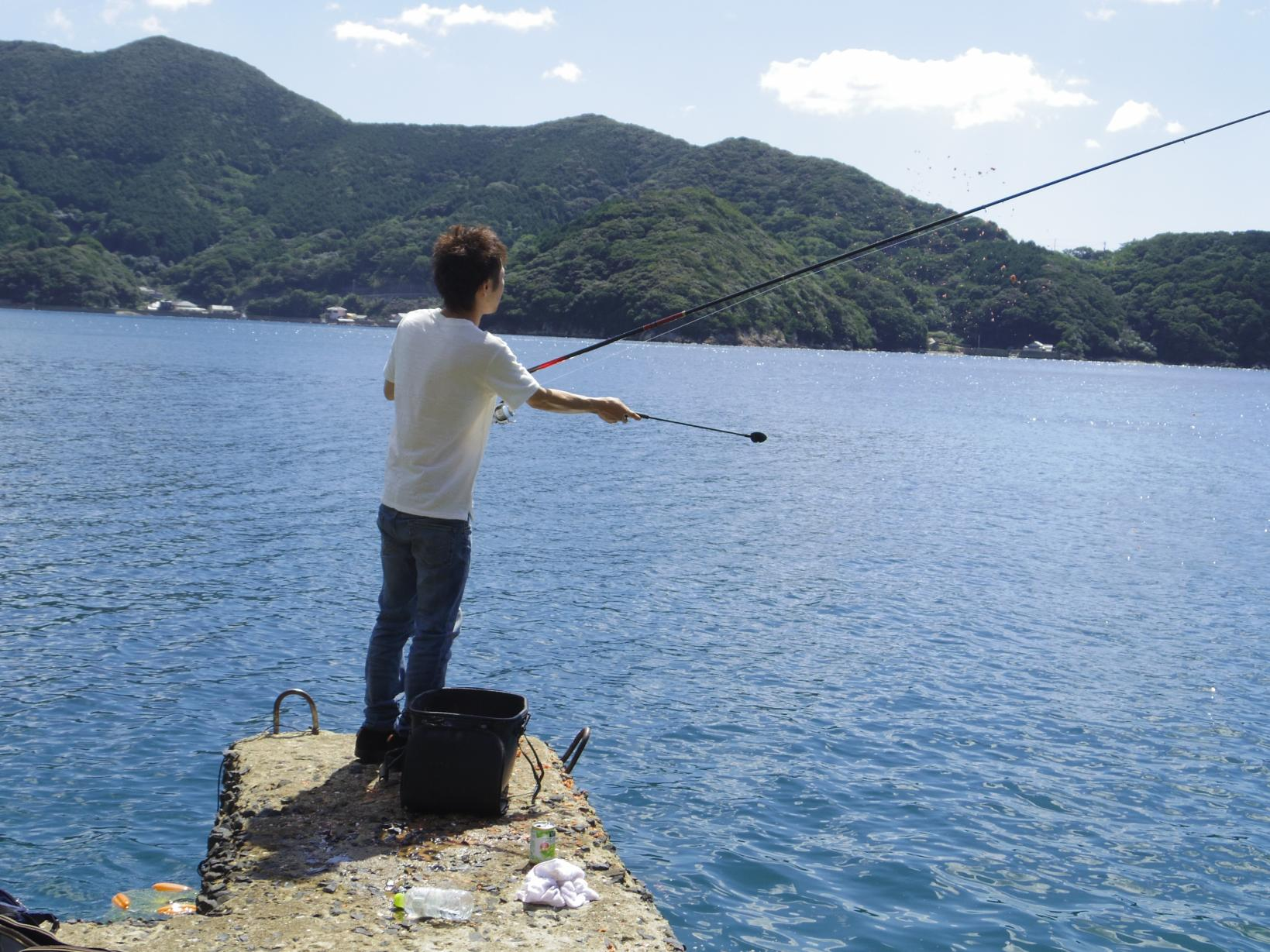 磯釣り体験(上五島)-1