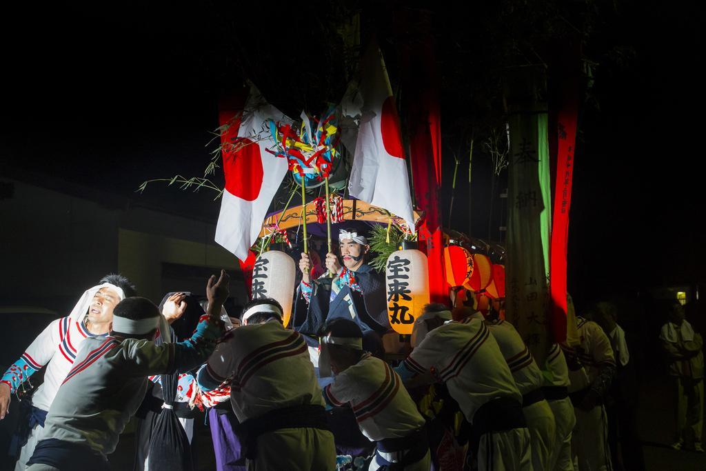 椛島神社例祭(市指定無形民俗文化財)-1