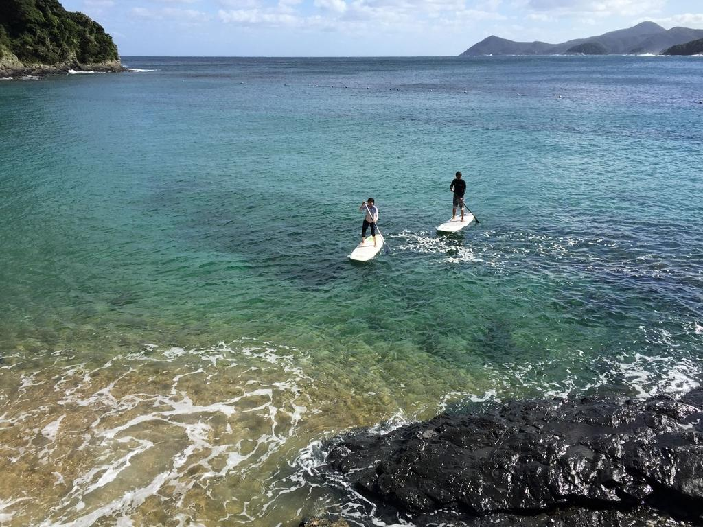 国境の海を満喫 SUP&ダイビング-1