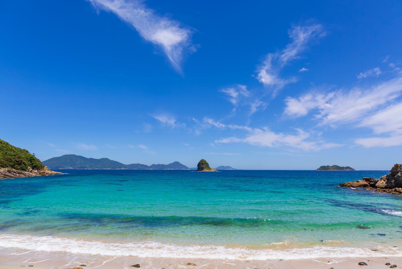 夏はやっぱり海水浴!